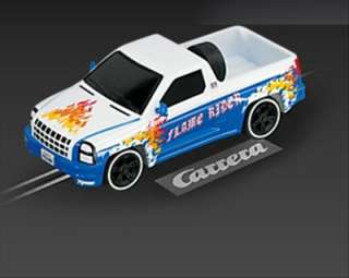 Carrera GO Slot Car Pickup Truck Flame Rider [61187]