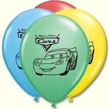 DISNEY CARS II Birthday Party supplies Balloons Bouquet