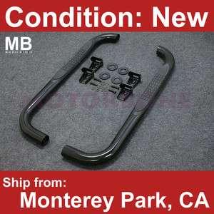 87 06 Jeep Wrangler Side Step Running Board Nerf Bar Rail 3 OEM Off