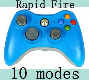 FIRE BLUE 10MODE MODDED CONTROLLER FOR BLACK OPS MW2 MW3 BF3