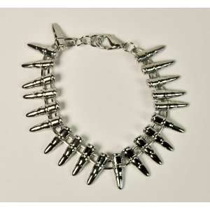 Silver Bullet Bracelet Heavy Metal Rock Death Black: Everything Else