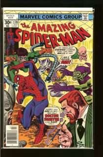 Amazing Spider Man #164 175 (Complete Lot of 12) Ave. FN VF/NM