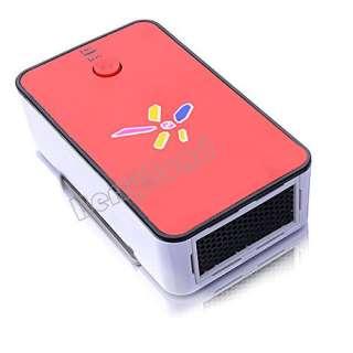 Mini Portable Warm air Fan Warmer Heater Winter Necessary Red New