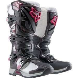 Fox Racing Comp 5 Womens Motocross/Off Road/Dirt Bike Boots   Black
