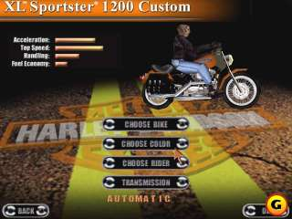 Harley Davidson Race Across America PC CD biker motorcycle chopper