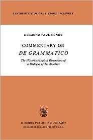 Anselms, (9027703825), Desmond Paul Henry, Textbooks   Barnes & Noble