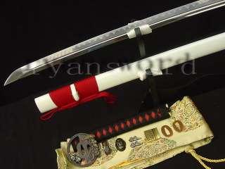 High Quality HAND FORGED JAPANESE SWORD KATANA RED SAME