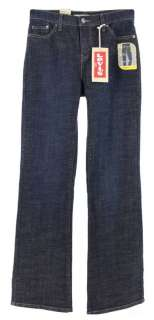 NWT Levis 512 Slimming Womens Boot Cut Jeans