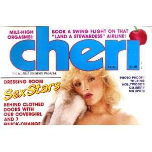 CHERI FEBRUARY 1985 7 PAGES OF CHRISTY CANYON: CHERI MAGAZINE: Books