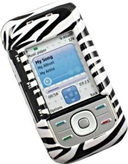 ZEBRA SKIN COVER CASE FOR Nokia 5300 XpressMusic Phone