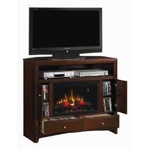 Fireplace Media Console