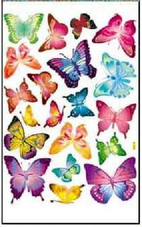 Colorful Butterfly Wall/Window Stickers Wallpaper Home Decor Kids