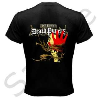Five Finger Death Punch 5FDP Skull Adult Tee T  Shirt S to 3XL