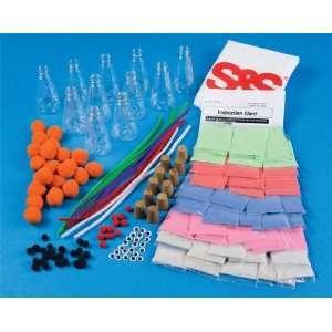 Glow Sand Art Bottle Craft Kit (Makes 12) Toys & Games