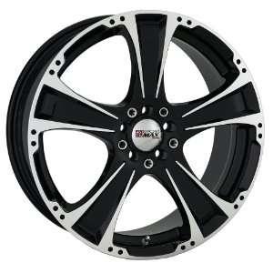 17x7 XXR 008 (Black w/ Machined Lip) Wheels/Rims 5x100/114