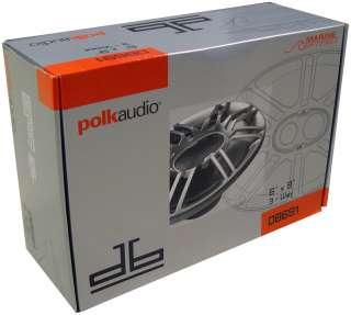 POLK AUDIO DB691 6x9 300 Watt 3 Way Car Speakers 747192112790