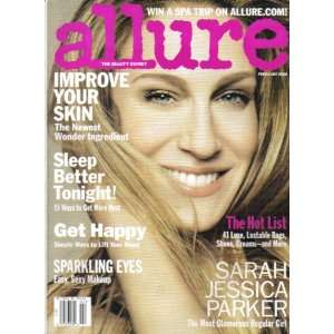 ALLURE MAGAZINE (February 2008) SARAH JESSICA PARKER