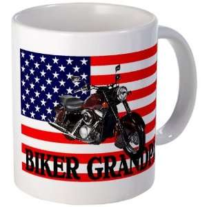 GRANDPA BIKE Funny Mug by CafePress:  Kitchen & Dining