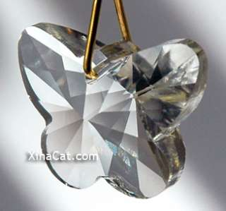 28mm Butterfly Austrian Crystal Prism Pendant SunCather