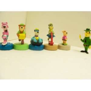 1990 Wendys Yogi Bear and Friends Set of 6: Everything