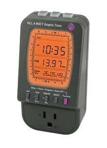 KILL A WATT Graphic TIMER Save MONEY ENERGY Monitor