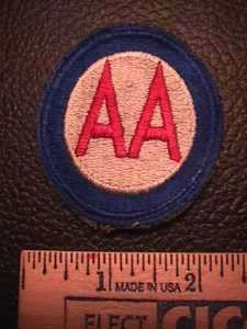 8411. Old U.S. Army Anti Aircraft Command Patch W1