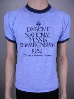 Championship NORTH COLORADO UNIVERSITY Thin 80s t shirt SMALL