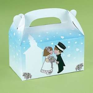 Wedding Treat Boxes   Party Favor & Goody Bags & Paper
