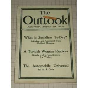 1908 The Outlook Magazine:Turkish Women Liberty