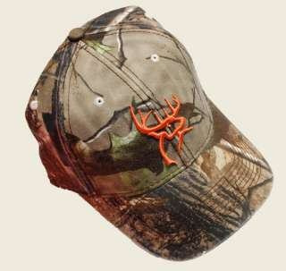 BUCK COMMANDER ~ CAMO ORANGE ~ DEER HUNTING HAT CAP NEW