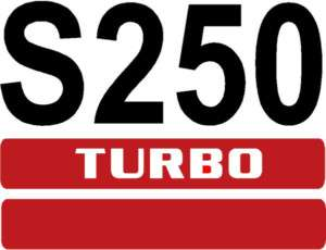 SKID LOADER  SKID STEER  NUMBER DECAL S 250   BOBCAT   ALL COLORS