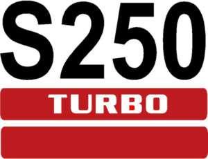 SKID LOADER  SKID STEER  NUMBER DECAL S 250   BOBCAT   ALL COLORS