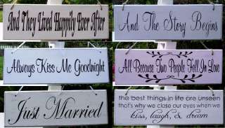Shabby Chic Romantic plaques/signs   Lovely original gift for