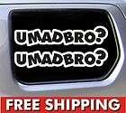 mad bro? jdm car vinyl sticker funny decal drift fatlace illest