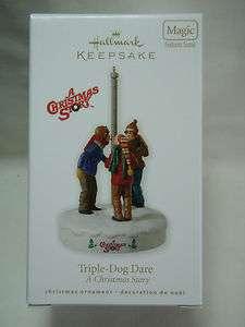 2010 Hallmark Keepsake Triple Dog Dare A Christmas Story