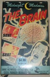 The Brain VHS Horror Cult Big Box Monterey Home Video