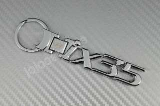 A57 IX35 HYUNDAI METAL CHROME KEY RING CHAIN KEYCHAIN NEW IN BOX