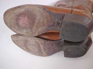Vtg TONY LAMA Cowboy Western Riding Boots 9 D USA Made