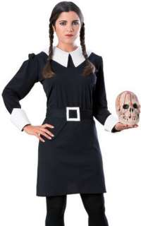 Womens Addams Family Wednesday Halloween Costume L