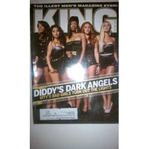 King Magazine March/April 2008: Diddys Dark Angels: Books
