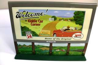 Hallmark Kiddie Car Bills Board #1 Welcome/KCs Garage