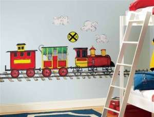 All Aboard Trains Wall Stickers Decals Mural