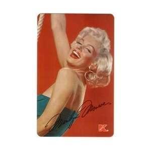 3m Marilyn Monroe (Kmart Promotion) Blue Dress & Large Hoop Earring