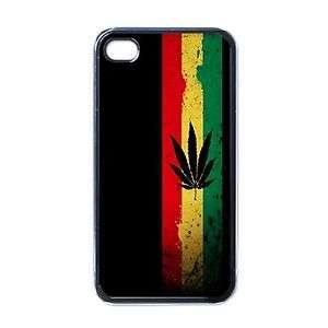 Rasta Reggae jamaica Weed Rastafari Case for iPhone 4 4s