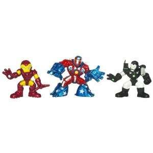 Super Hero Squad Movie Pack With Iron Man War Machine Toys & Games