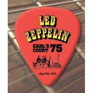 Led Zeppelin Knebworth 1979 Tour Guitar Pick x 5 Musical