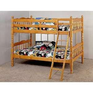Size Over Twin Size Kids Extra Durable Mission Style Kids Bunk Bed