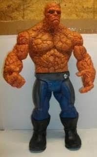 Rare Huge THING 27 TOY BIZ FIGURE MARVEL fantastic 4