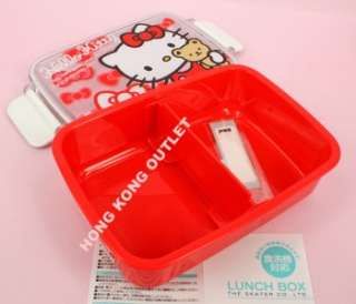 Hello Kitty Bento Lunch Box Case Container Sanrio L20a
