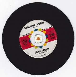 Teen Popcorn 45 CHRIS CROSBY Something Special WB 5338 PROMO DJ